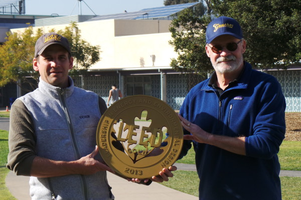 USCB LEED Gold Plaque